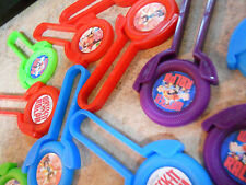 12 Wreck It Ralph Disk SHooters~ birthday party favor treat bags, pinata toys