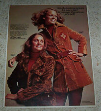1971 ad page - SHELLEY HACK - JCPenney jackets fashions clothing VINTAGE ADVERT