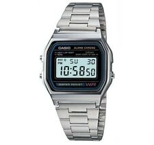 Casio Retro Digitaluhr Uhr A158WA-1D Armbanduhr Digital Herren Damen Uhr