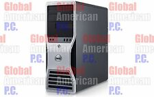 Dell Precision T5400 Workstation 2x 3.00GHz Quad Core 5450 16GB RAM No HDD No OS