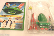 5 4 3 2 1 FAB SET OF 4 THUNDERBIRD TOYS + DVD + TRACY ISLAND MAP