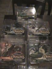 MCFARLANE DRAGONS SERIES 1 SET of 5 water fire clan sorcerers komodo MOTHER OF