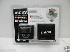 TREND MAGNETIC BASE DIGITAL LEVEL BOX ANGLE FINDER MITRE/TABLE SAWS DLB
