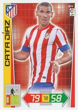 N°024 CATA DIAZ # ARGENTINA ATLETICO MADRID CARD PANINI ADRENALYN LIGA 2013
