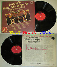 LP WALTER LANDAUER Favourite piano masterpieces SIGNED 1973 england MFP cd mc