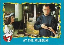 1989 Topps Ghostbusters 2 #46 At The Museum   Peter Venkman   Dana   Bill Murray