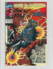 MARVEL COMICS PRESENTS #93 SIGNED BY BUD LAROSA INKER GHOST RIDER CABLE 1991 NM