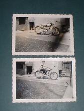 4 orig. photos moto environ 50er ans