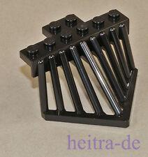 LEGO Eisenbahn -  Kuhfänger, Rammschutz, Schieber 2x6 schwarz / 90201 NEUWARE