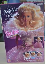 Twinkle Lights Barbie Vintage Collectible Fiber Optic Barbie 1993 NRFB