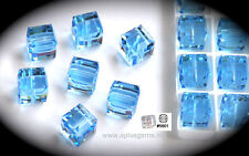 Authentic #5601 Swarovski Crystal 4mm Cube Square Beads pick colors 2pcs SALE