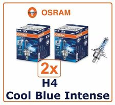 2x H4 Cool Blue Intense OSRAM 60/55W 12V P43t XENON Headlight High beam Germany