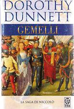 Gemelli. La saga di Niccolò -Dorothy Dunnett- Libro nuovo e raro!