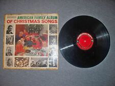 American Family Album Of Christmas Songs Columbia Records Various Artists