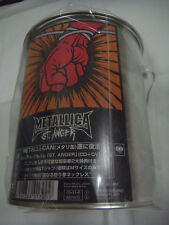 SEALED NEW METALLICA-St. Anger METALLI-CAN JAPAN 1st.Press w/OBI COMPLETE