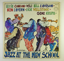 """12"""" LP - Eddie Condon - Jazz At The New School - B4020 - washed & cleaned"""