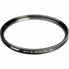 Tiffen 49mm UV SMC protection lens filter for Pentax Pentax-D FA 100mm f/2.8 WR