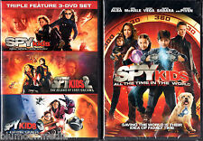 Spy Kids 1 2 3 4 DVD Complete Collection Lot All Time in World Game Over set NEW