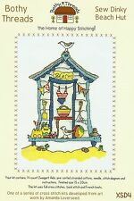 BOTHY THREADS SEW DINKY BEACH HUT COUNTED CROSS STITCH KIT 15x20cm NEW MAY 2014
