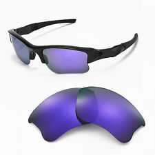 New WL Polarized Purple Replacement Lenses For Oakley Flak Jacket XLJ Sunglasses