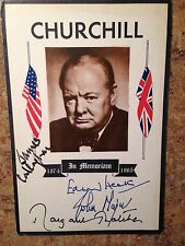 MARGARET THATCHER  SIGNED FDC 100% AUTHENTIC  ENGLISH PRIME MINISTERS