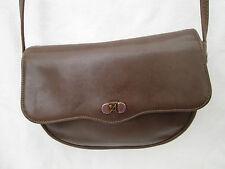 Magnifique petit sac à main ASSIMA  cuir  (T)BEG vintage bag