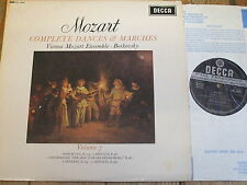 SXL 6246 Mozart Complete Dances & Marches Vol. 7 / Boskovsky W/B