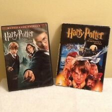 2 DVD Lot, Harry Potter, THE ORDER PHOENIX & THE SORCERER'S STONE