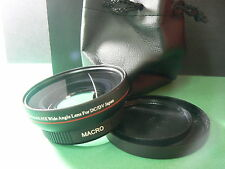 KAW 62mm 0.45X Wide-Angle Lens w/Macro For Nikon Coolpix 8800 Camera