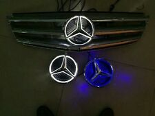 LED car front grille led logo badge emblem for Mercedes-Benz
