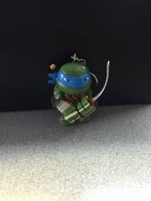 NICKELODEON 2015 TMNT LEONARDO KEYCHAIN WITH ONE 3D CARD PUZZLE PIECE