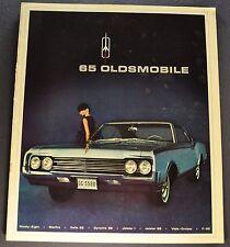 1965 Oldsmobile 10x12 Brochure Cutlass 442 F85 Starfire Jetstar I 88 98 Canadian