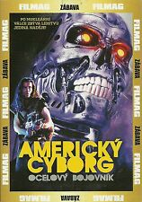 American Cyborg: Steel Warrior 1993 scifi horror cult classic new DVD in English