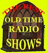 SHELL CHATEAU OLD TIME RADIO SHOWS MP3 CD VARIETY
