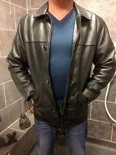 Real Heavy leather jacket size Medium