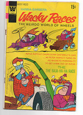 WHITMAN  WACKY RACES  6  1972  LOW GRADE  HANNA BARBERA  DASTARDLY AND MUTTLEY