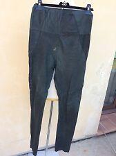 Sublime pantalon slim taille haute cuir Agneau  strech Isabel Marant 36/38 tbe