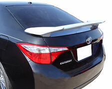 PAINTED TOYOTA COROLLA 4-DOOR CUSTOM STYLE REAR WING SPOILER 2014-2017