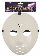 Fancy Dress White Hockey Mask Halloween Jason