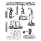 NEW Tim Holtz Stampers Anonymous Rubber Stamp Laboratorie