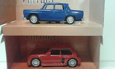 RENAULT R-8 GORDINI + R-5 TURBO MONDO MOTORS 1/43