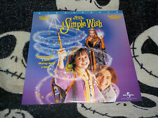 A Simple Wish Widescreen Laserdisc LD Martin Short Kathleen Turner Free Ship $30