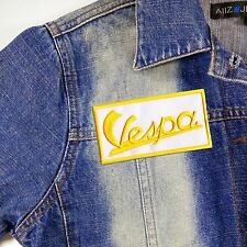 VESPA SCOOTER PIAGGIO WASP PAPERINO LOGO EMBROIDERED IRON/SAW PATCHES Badge Bike
