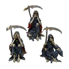 Something Wicked Three Wise Reapers, see, hear, speak no evil figurines NEM3858