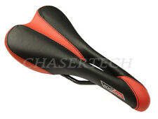 New Velo EndZone MTB Road Bicycle Bike Saddle Seat Black/Red
