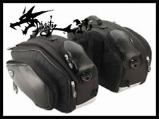 Good Quality Black Saddle Bags For Suzuki 1999-2007-2008-2013 GSX1300R Hayabusa