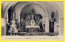 cpa Rare 75 PARIS PASSY CHAPELLE du PENSIONNAT de la PROVIDENCE Rue de la Pompe