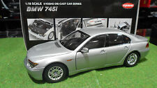 BMW 745 i gris Silver au 1/18 de KYOSHO 08571S voiture miniature de collection