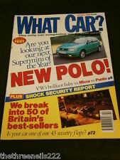 WHAT CAR? - VW POLO - OCT 1994