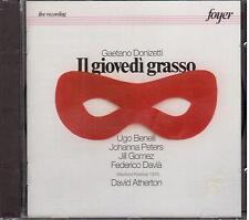 Donizetti: Il Giovedi Grasso / Benelli, Peters, Atherton - CD